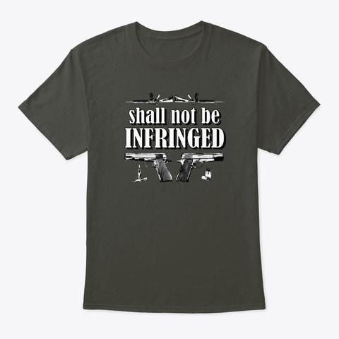 Amend 2 B Smoke Gray T-Shirt Front