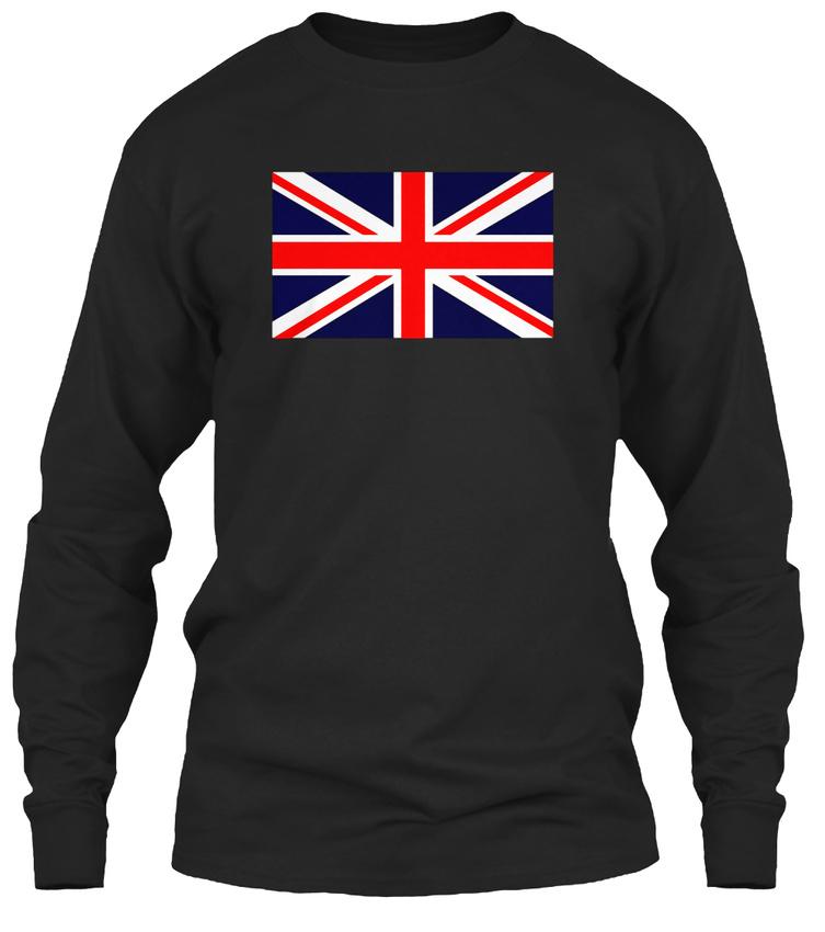 Trendsetting-Union-Jack-Flag-Great-Britain-Gildan-Long-Sleeve-Tee-T-Shirt