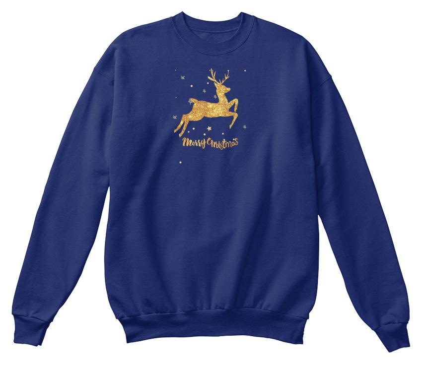 Confortable shirt Design Santa Sweat Christmas Top Day Nouveau N Dernières Joyeux pHxFv
