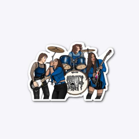 Live Digital Sketch Blue Standard T-Shirt Front