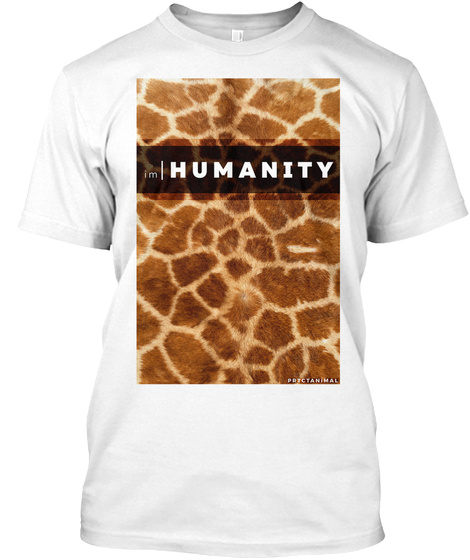 Humanity White T-Shirt Front