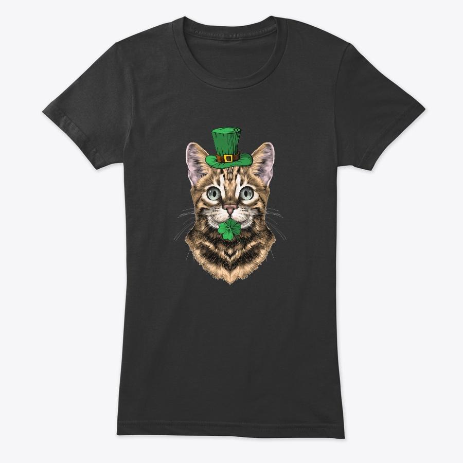 Bengal Cat Leprechaun St Patricks Day - Amazing Cheap St Partricks Day Long Sleeve Tee Shirts Design