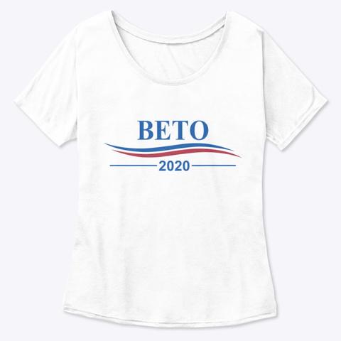 Beto 2020 Shirts White  T-Shirt Front