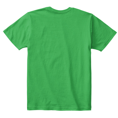 It's My 7th Birthday Kids Emoji T Shirt Irish Green T-Shirt Back