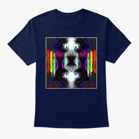 Nebular Navy T-Shirt Front