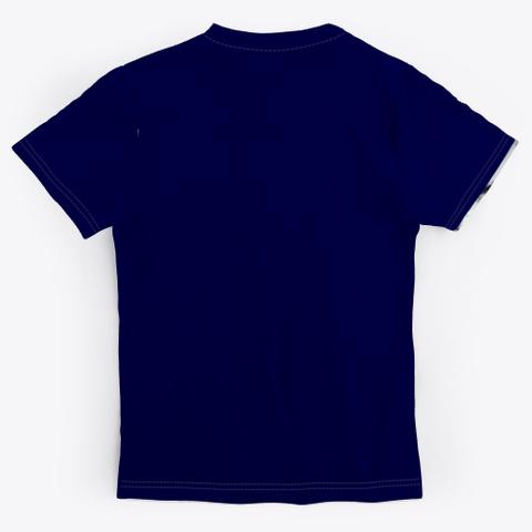 Tiger Merch Dark Navy T-Shirt Back