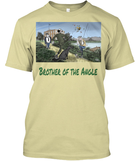 Brother Of The Angle Sand T-Shirt Front