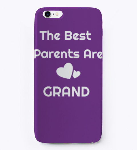 Celebrate Grandparents Day Purple T-Shirt Front