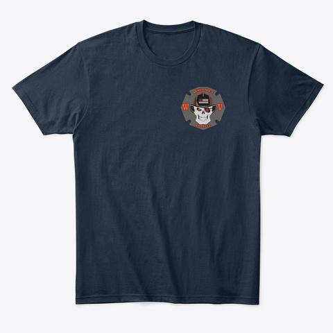 Wheelingsbravest Merchandise New Navy T-Shirt Front
