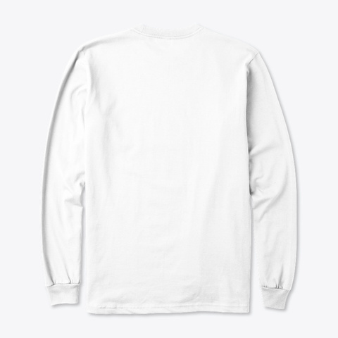 Organic Line Cbd France White T-Shirt Back