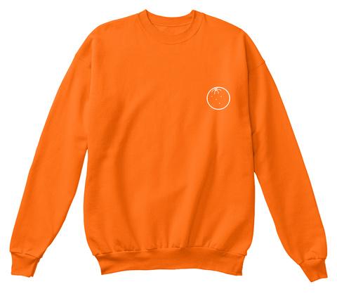 Orginal 'orange' Crewneck Orange Crush T-Shirt Front