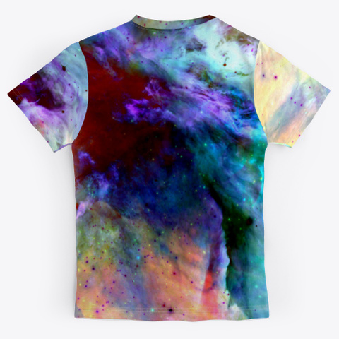 Fumi   Colorful Abstract Space Galaxy Standard T-Shirt Back