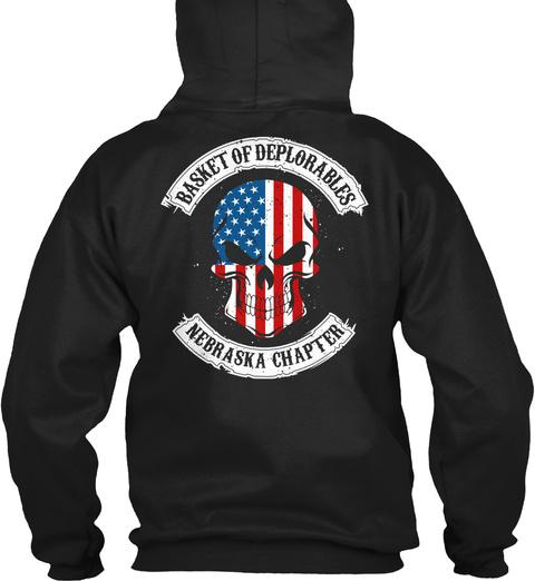 Basket Of Deplorable:Ne Chapter   Ltd Ed Black T-Shirt Back