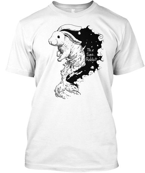 The Sea Rabbit White T-Shirt Front