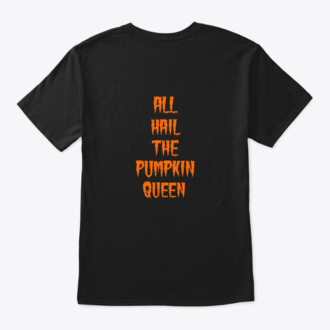 Malice Shirts Black T-Shirt Back