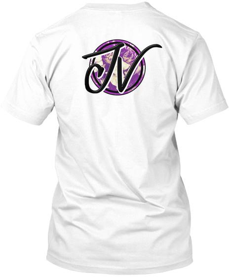 Jv White T-Shirt Back