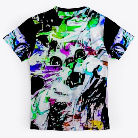Bc Cat 7460 Black T-Shirt Back