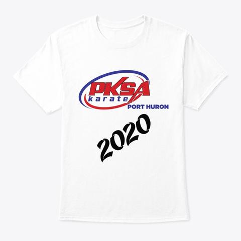 Pksa Port Huron 2020 White T-Shirt Front