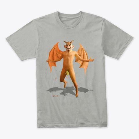 Gaap The Great Demon Light Grey Camiseta Front