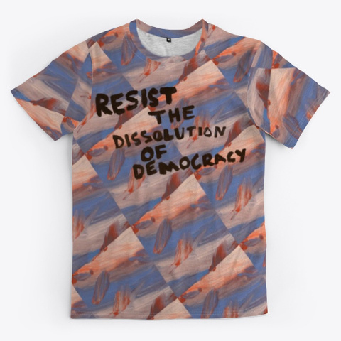 Resist The Dissolution (Checkered) Standard T-Shirt Front