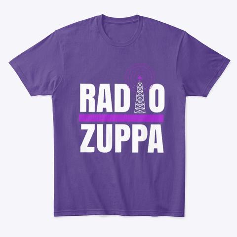 Radio Zuppa T Shirt Purple T-Shirt Front