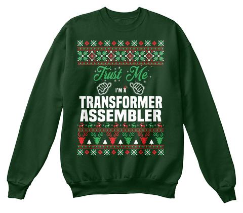 Trust Me I'm A Transformer Assembler Deep Forest  T-Shirt Front