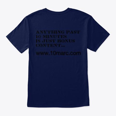 10marc Navy T-Shirt Back