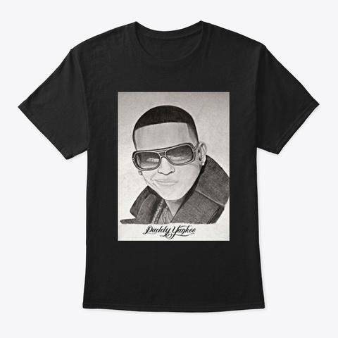 Retrato Black T-Shirt Front