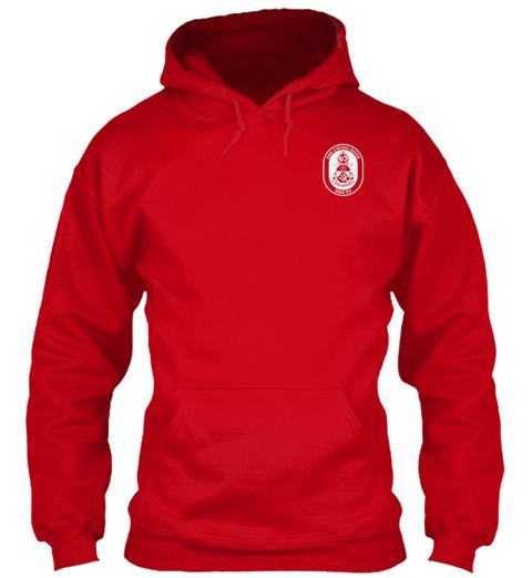 Uss Chung Hoon Ddg 93 Red T-Shirt Front