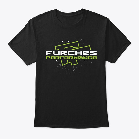 Og Furches Performance Shirt Black T-Shirt Front