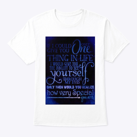 🔥Find Your Fire White T-Shirt Front