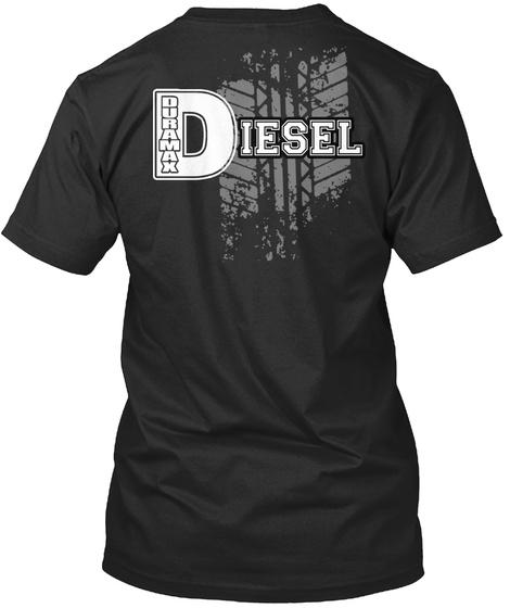 Diesel Black T-Shirt Back