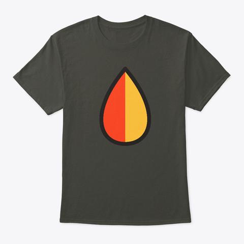 Kareha Mark Smoke Gray T-Shirt Front