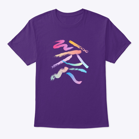 Gradient Purple T-Shirt Front