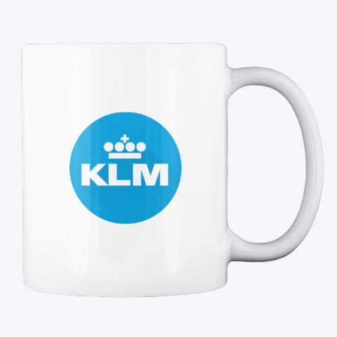 Klm   Mug White T-Shirt Back