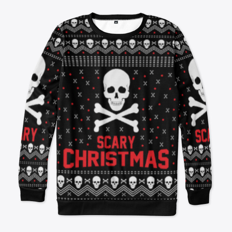 Scary Christmas Standard T-Shirt Front