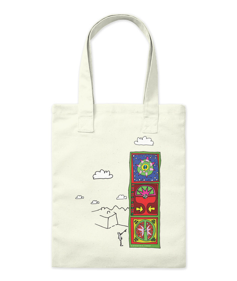 Look For Nothing Tote Bag Natural Tote Bag Front