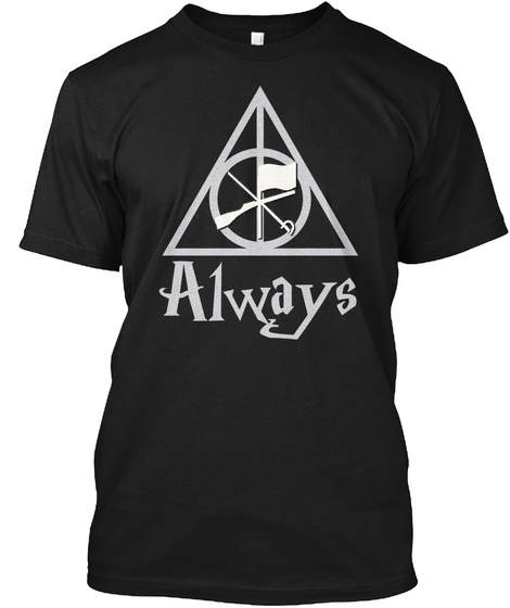 Always Black T-Shirt Front