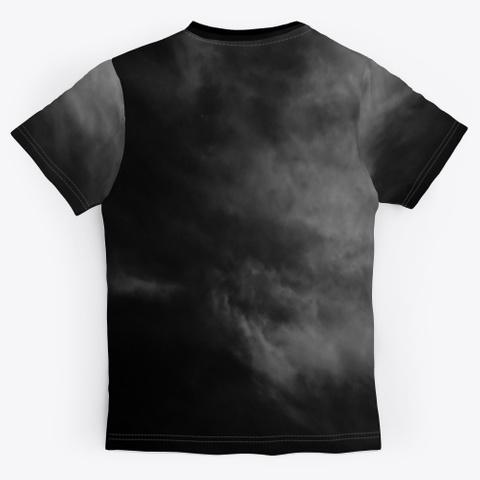 Vampire Bats   Full Moon   Dark Night Black T-Shirt Back