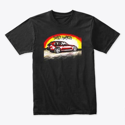 Shift Shirts Street Shoe   Z3 Coupe  Black T-Shirt Front