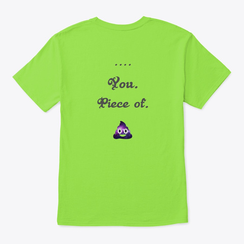 Ride Home Lime T-Shirt Back