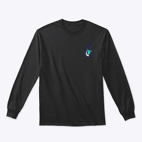 Team Fiji's Merch. Black T-Shirt Front