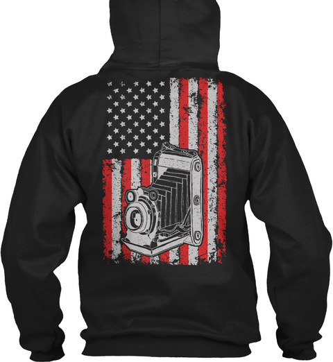 America And Photography   Ltd. Edition Black Sweatshirt Back