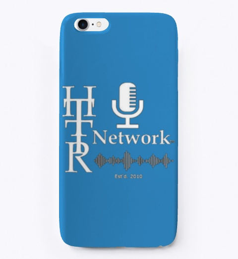 Httr Network Phone Cases/Covers Denim Blue T-Shirt Front