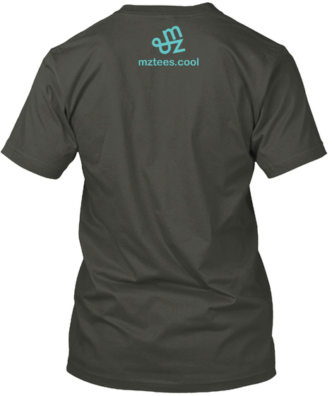 Earth And Moon Smoke Gray T-Shirt Back