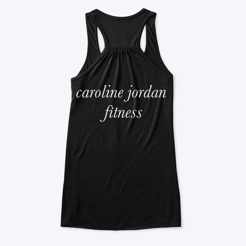 Highly Meditated Fitness Tank  Black T-Shirt Back