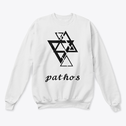 The Pathos Collection White  T-Shirt Front