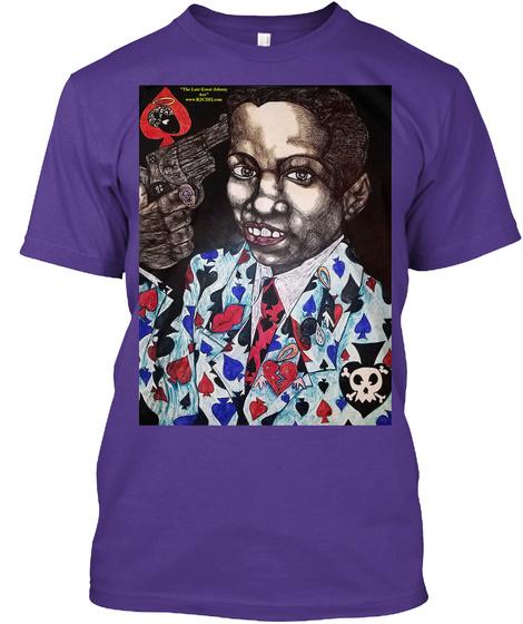 Ace's Wild Purple T-Shirt Front
