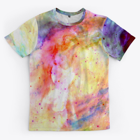 Fumi   Colorful Abstract Space Galaxy Standard T-Shirt Front