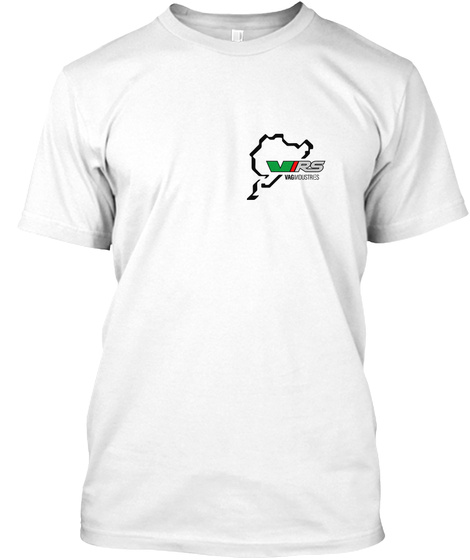 Virs White T-Shirt Front